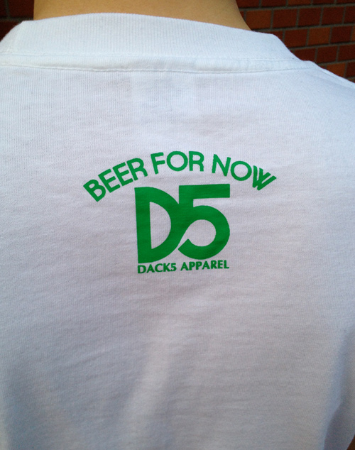 DACK5 LYBR Tee green back